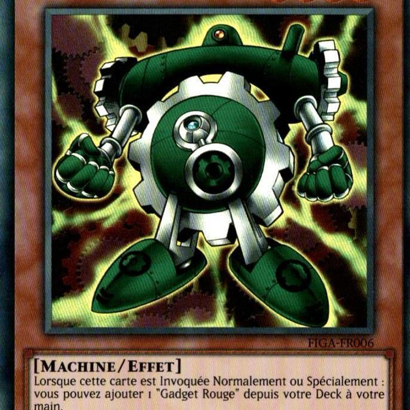 フランス語版 FIGA-FR006 Green Gadget グリーン・ガジェット (スーパーレア) 1st Edition