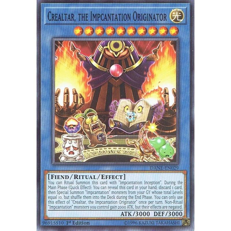 英語版 DANE-EN029 Crealtar, the Impcantation Originator 魔神儀の創造主-クリオルター (ノーマル) 1st Edition