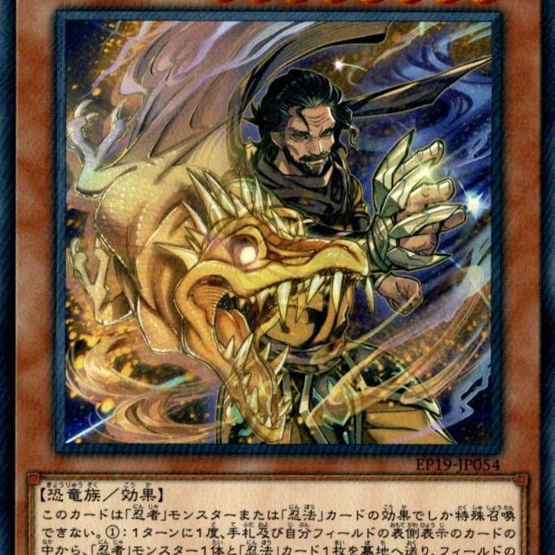 《黄竜こうりゅうの忍者にんじゃ/Yellow Dragon Ninja》 †