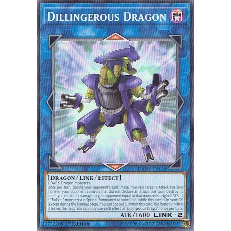 英語版 DANE-EN041 Dillingerous Dragon デリンジャラス・ドラゴン (ノーマル) 1st Edition