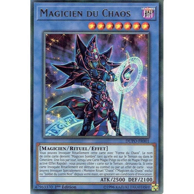 フランス語版 DUPO-FR001 Magician of Chaos マジシャン・オブ・カオス (ウルトラレア) 1st Edition