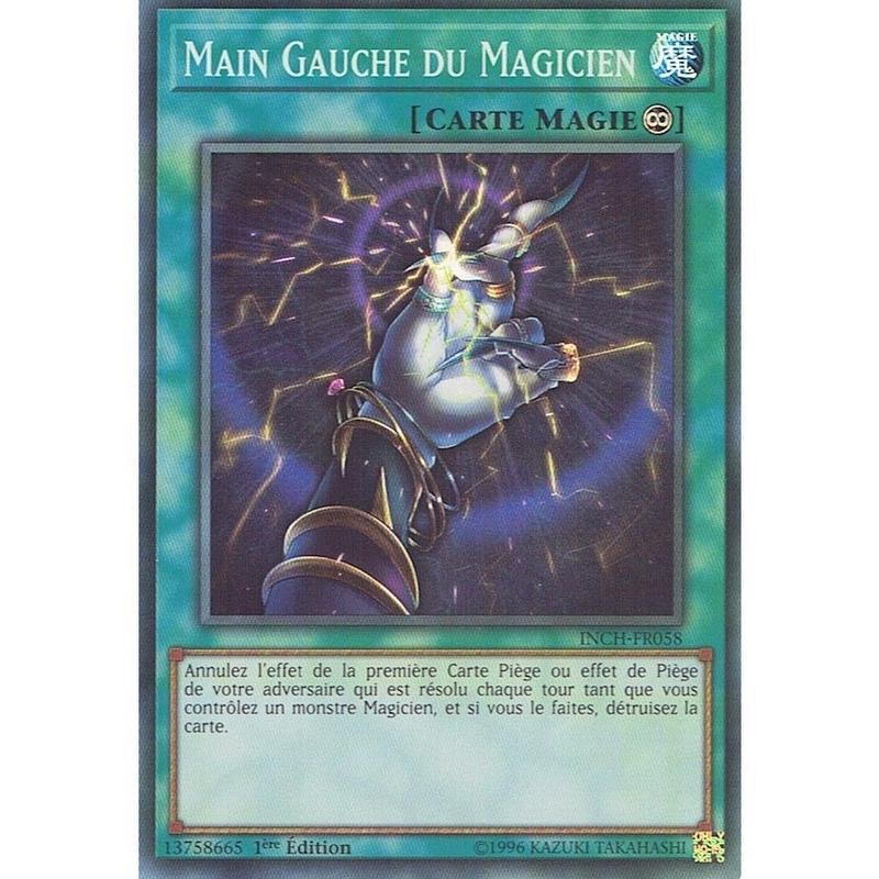 フランス語版 INCH-FR058 Magician's Left Hand 魔術師の左手 (スーパーレア) 1st Edition