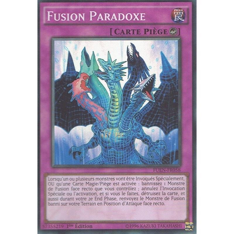 フランス語版 FUEN-FR058 Paradox Fusion パラドックス・フュージョン (スーパーレア) 1st Edition