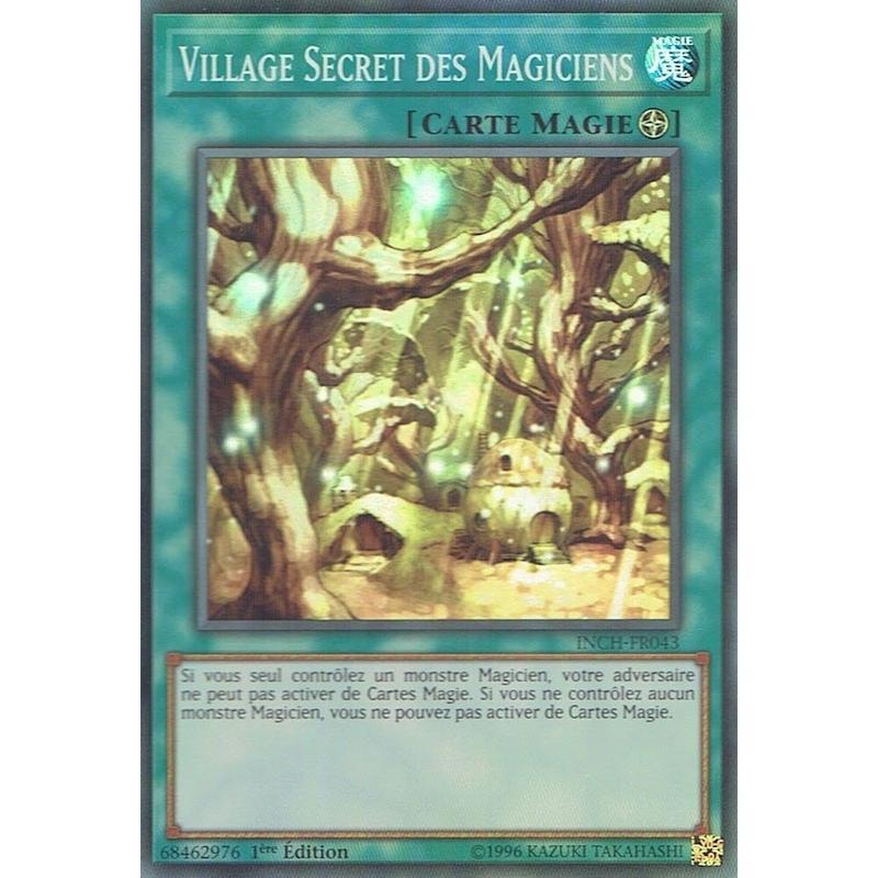 フランス語版 INCH-FR043 Secret Village of the Spellcasters 魔法族の里 (スーパーレア) 1st Edition