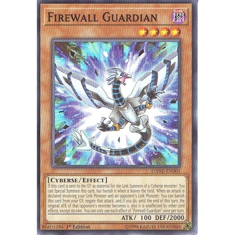 英語版 DANE-EN001 Firewall Guardian ファイアウォール・ガーディアン (ノーマル) 1st Edition
