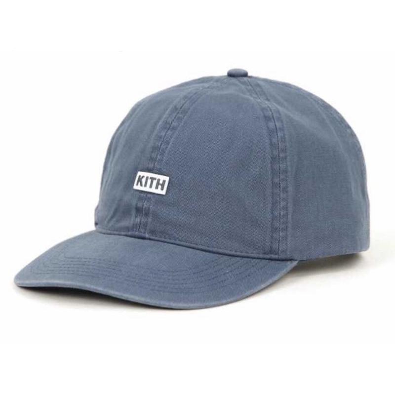 Kith Twill Dad Hat /Medium Indigo