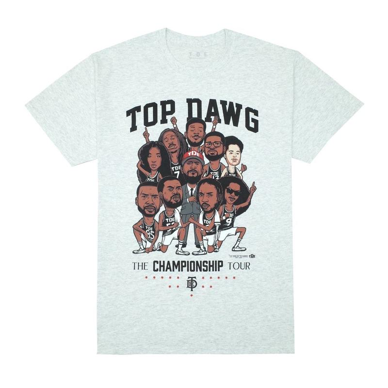 Top Dawg Entertainment The Championship Tour Tee