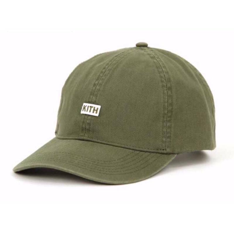 Kith Twill Dad Hat/Olive