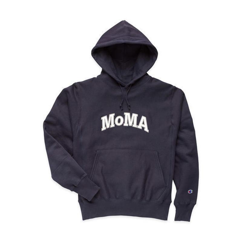 MoMA Champion リバースウィーブフーディー