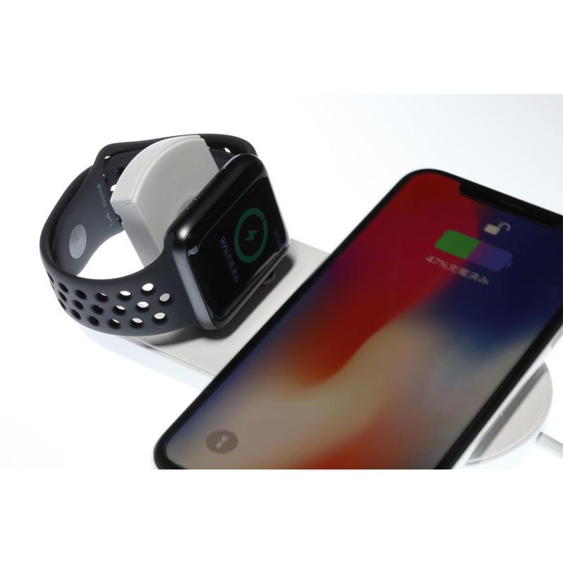 Wireless Charger II・急速ワイヤレス充電器 & Apple Watchスタンド