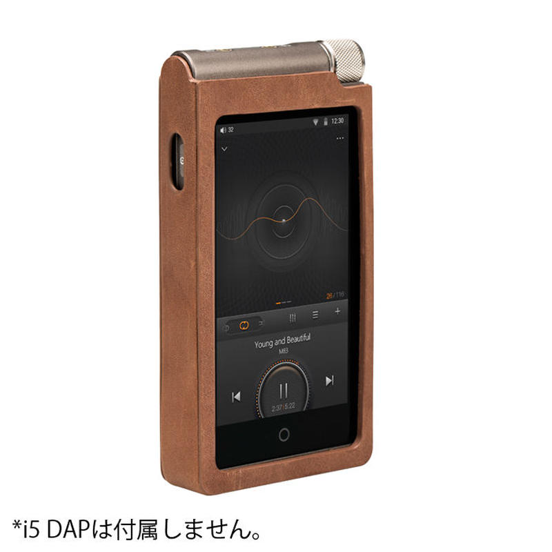 Cayin Protection Case For i5 ブラウン