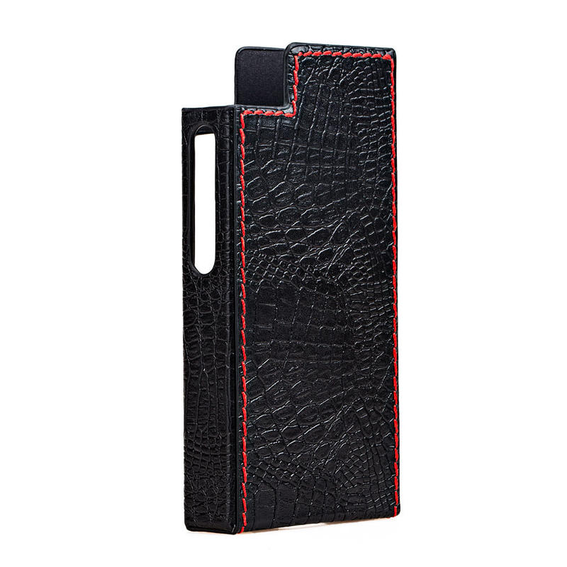 Protection Case For N5ii(カラー:BLACK/背面赤ステッチ) Cayin N5ii用純正レザーケース