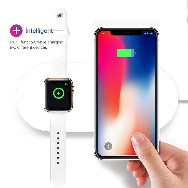 Wireless Charger ・急速ワイヤレス充電器 & Apple Watchスタンド