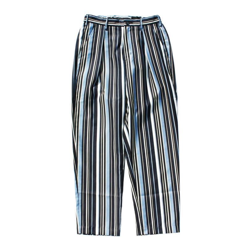 Utility trouser - Polyester stripe / Navy