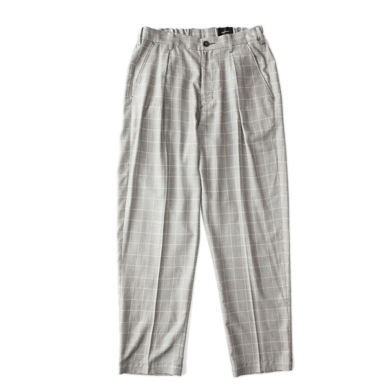 Utility trouser - Glen check / Beige
