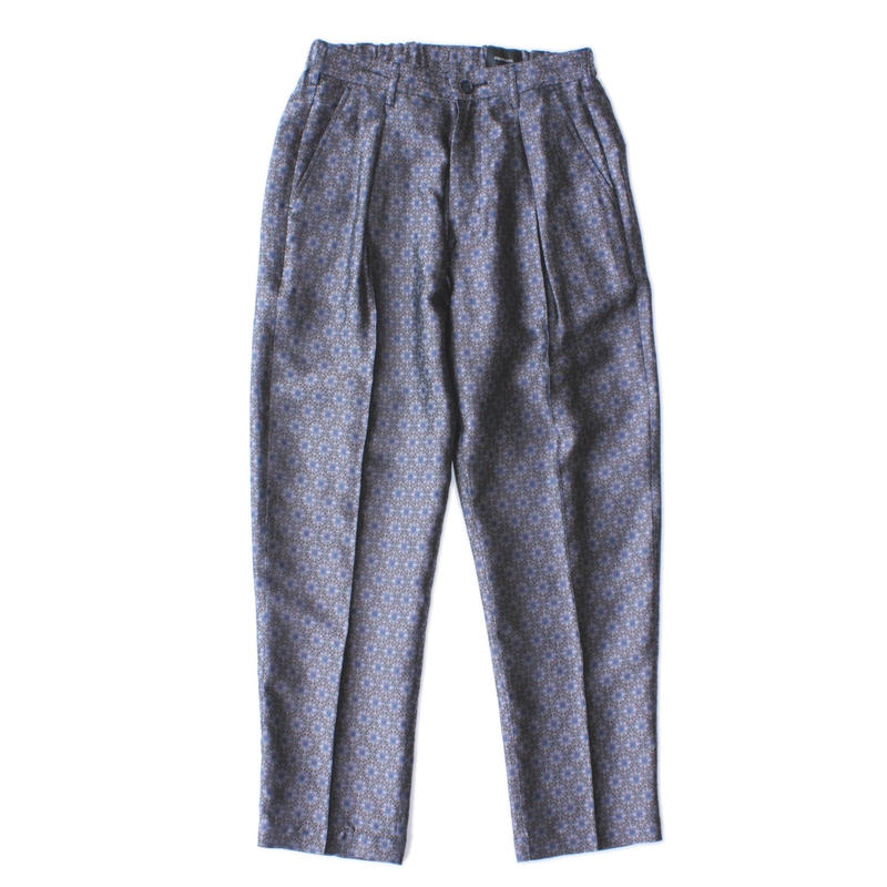Utility trouser - Flower jacquard / Purple