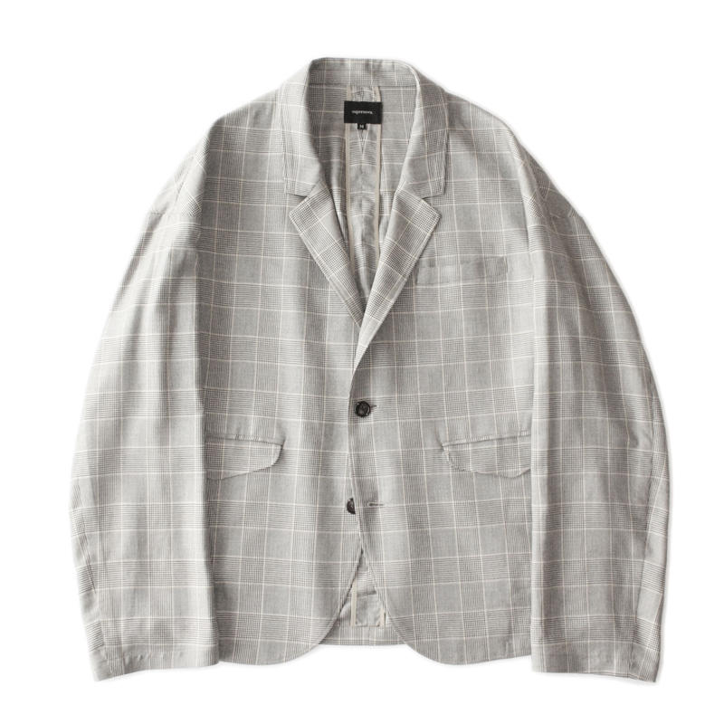 Drop 2B jacket - Glen check / Grey