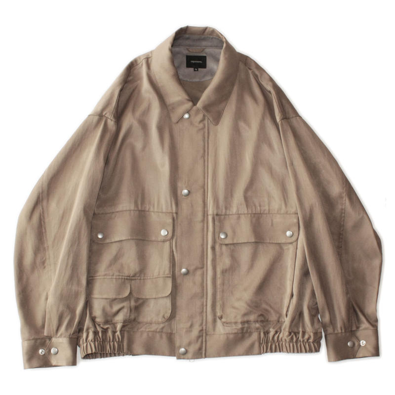 Field jacket - C/R twill / Khaki