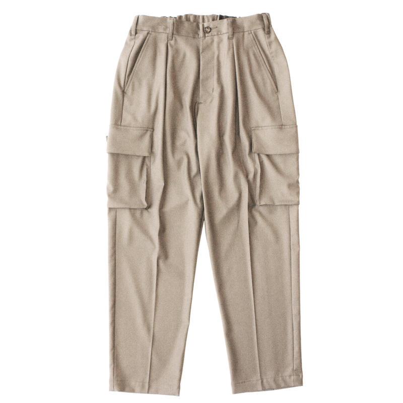 Utility cargo trouser - Gabardine / Beige