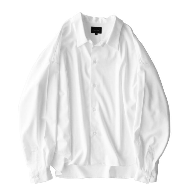 Big shirt 弐 - Gabardine / White