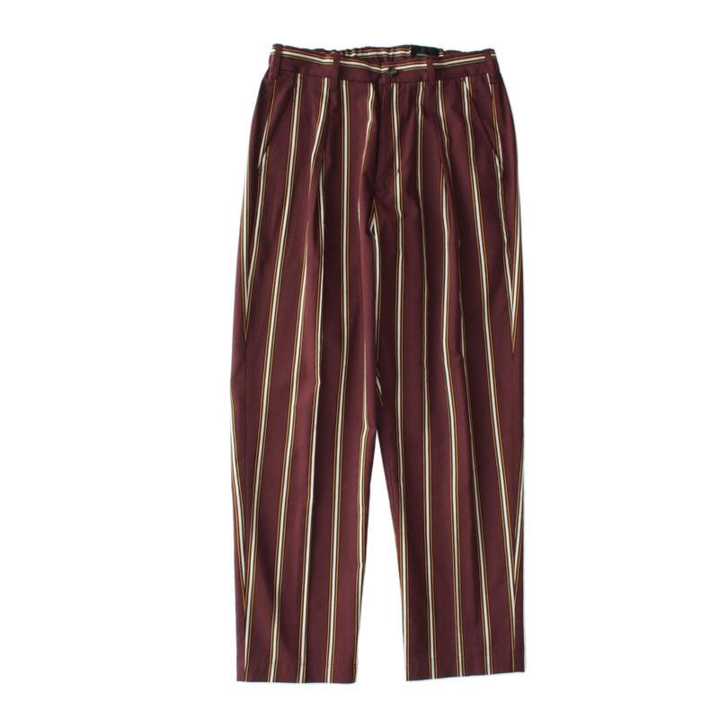 Utility trouser - Tencel stripe / Enji