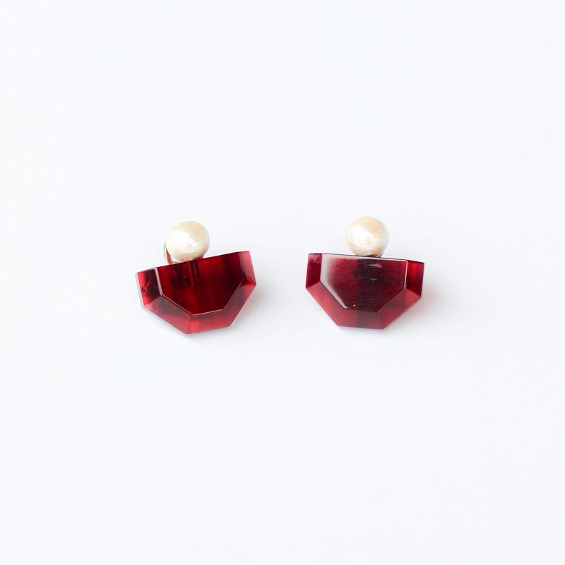 Sur/earrings SR-EA5(RD)