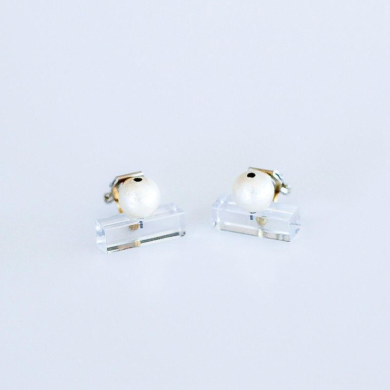 Sur/earrings SR-EA2(CL)