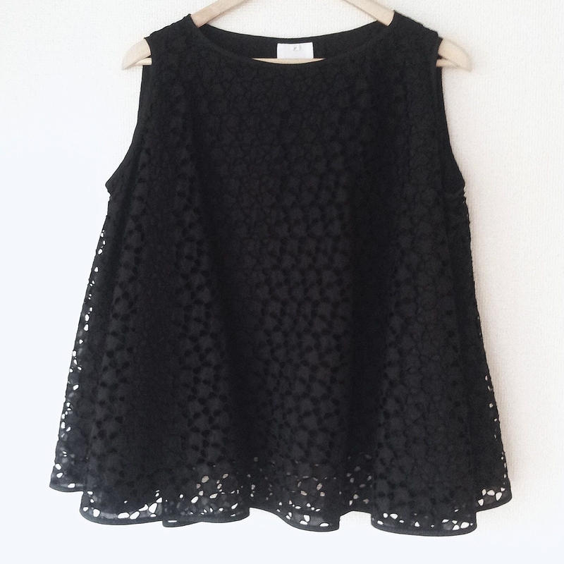 flared blouse / 03-5308005