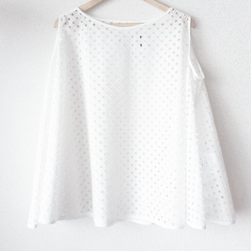 flared blouse / 03-5108003