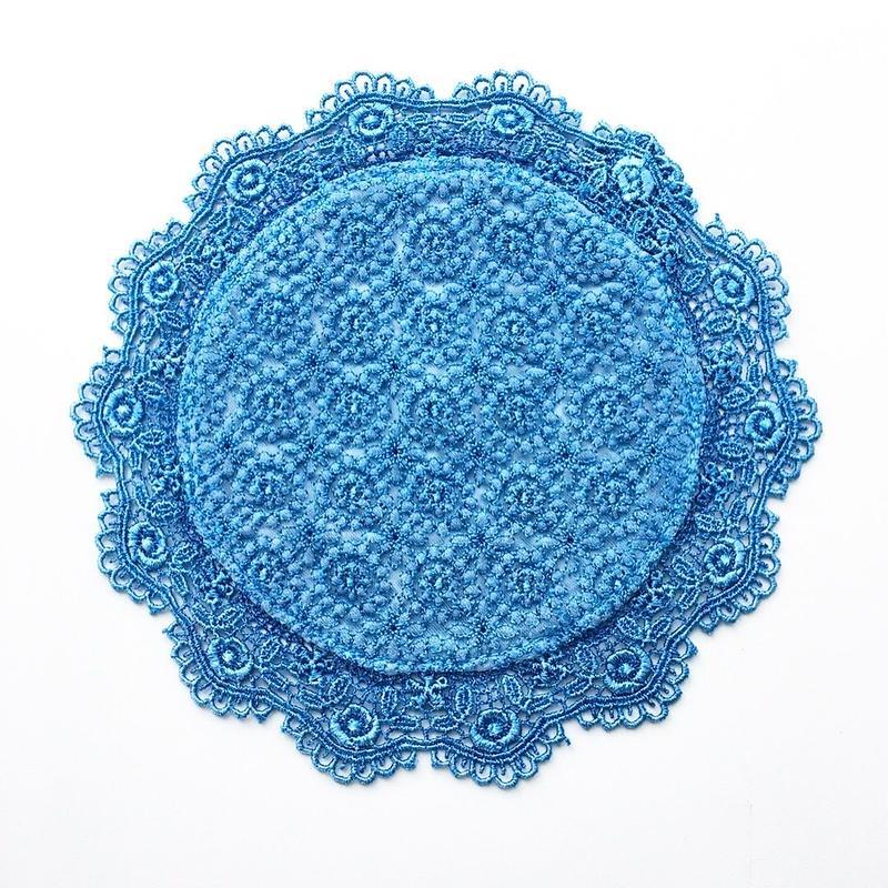 indigo-dyed coaster / 03-8110003