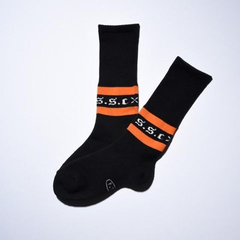 S.S.C High socks BLK/ORG