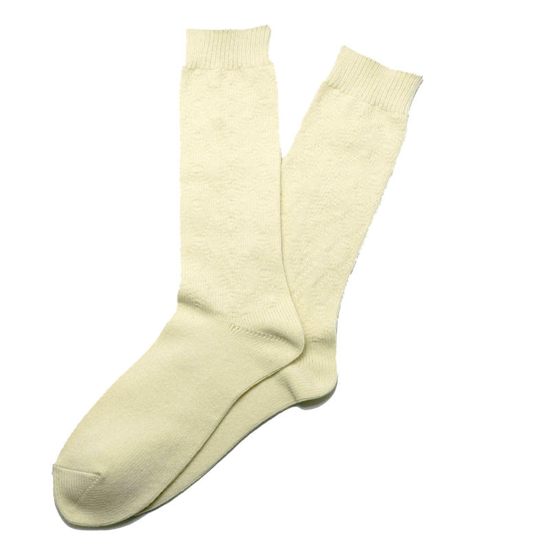 Cable Socks  IVORY