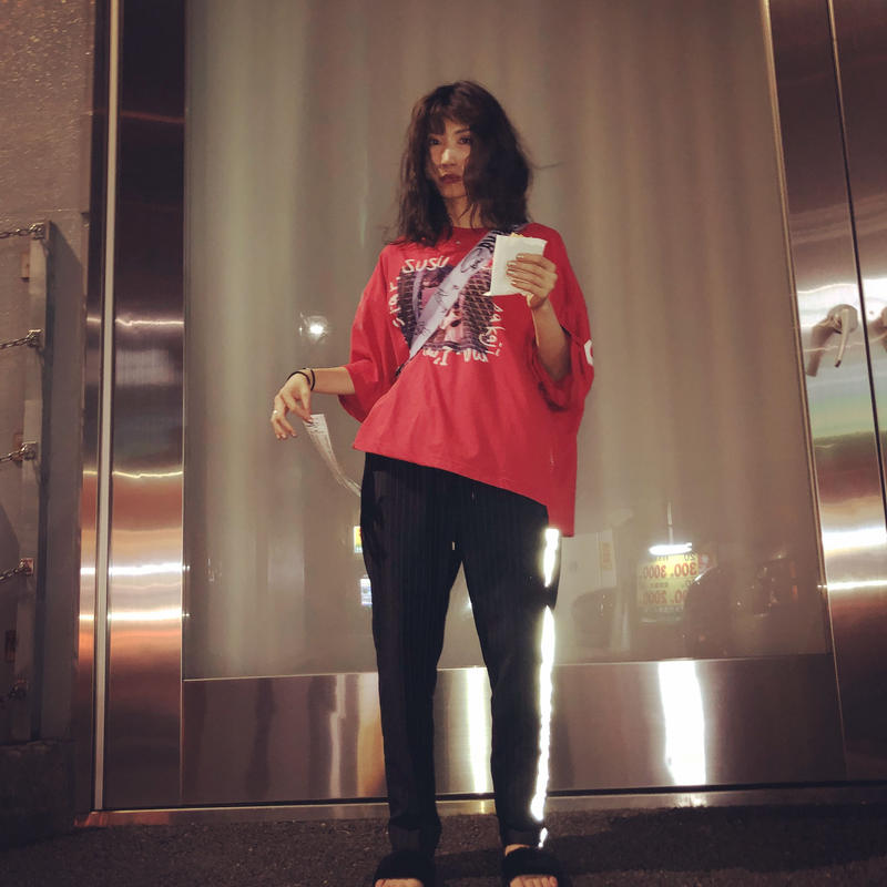 ROCK STAR Tシャツ / Red