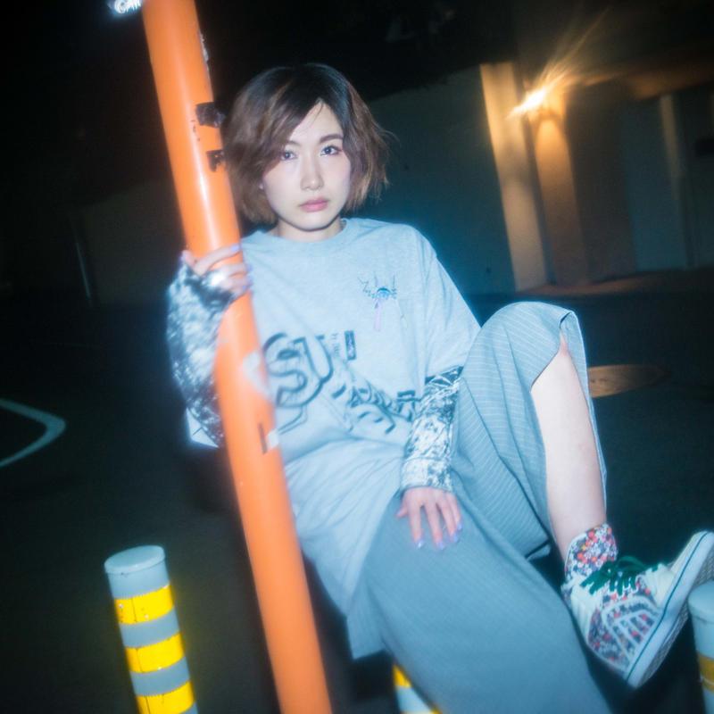 耳星人ポケットTシャツ / GRAY
