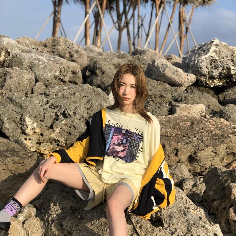 ROCK STAR Tシャツ / Yellow