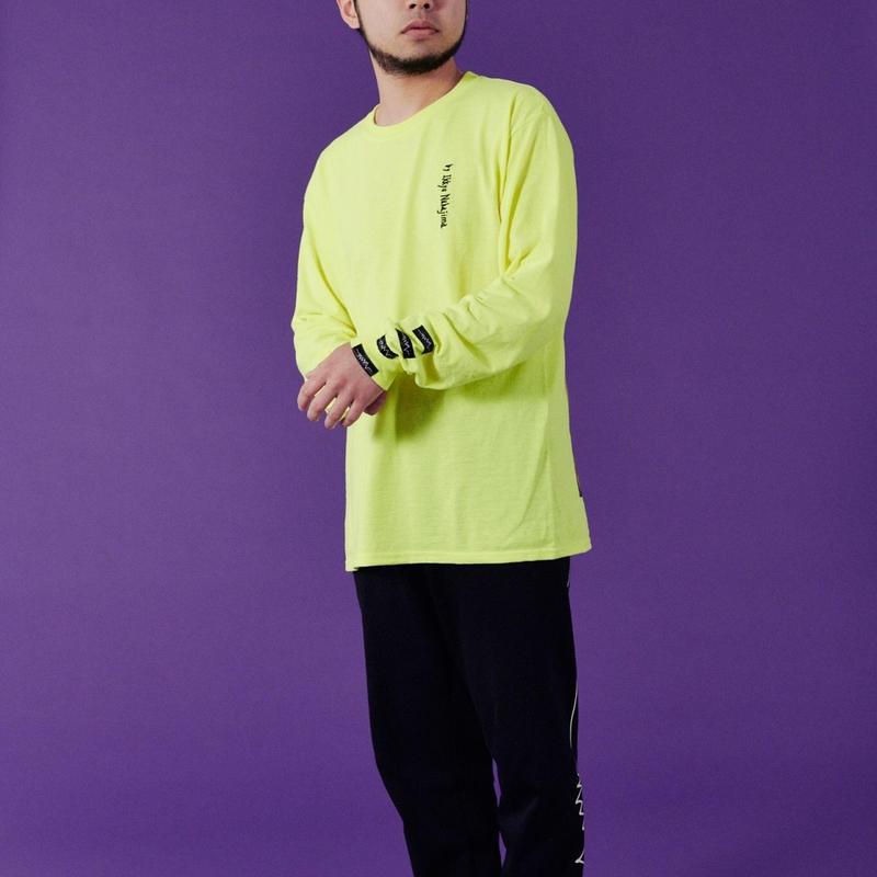 SUSU ロング T-シャツ Safety green