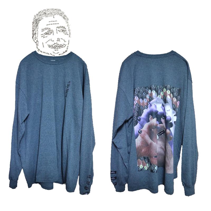 SUSUロングTシャツ / Heather Gray [ limited color of winter season]
