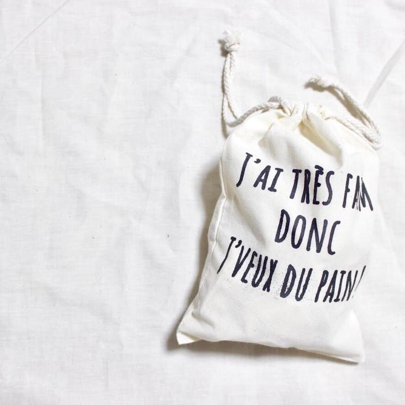 パンちょうだい巾着バッグ小