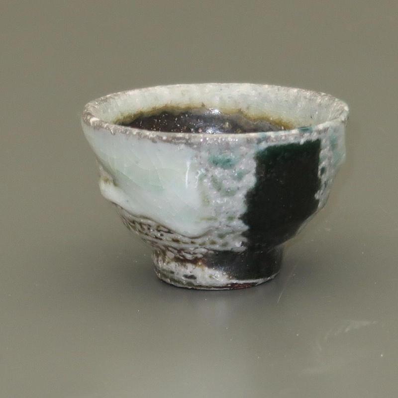 No.104:YOHEN SODA SAKE Cup「窯変曹達ぐい呑」