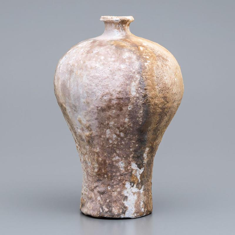 No.6:YOHEN Natural Ash Glaze Vase「窯変灰被瓶子(瓶子)」