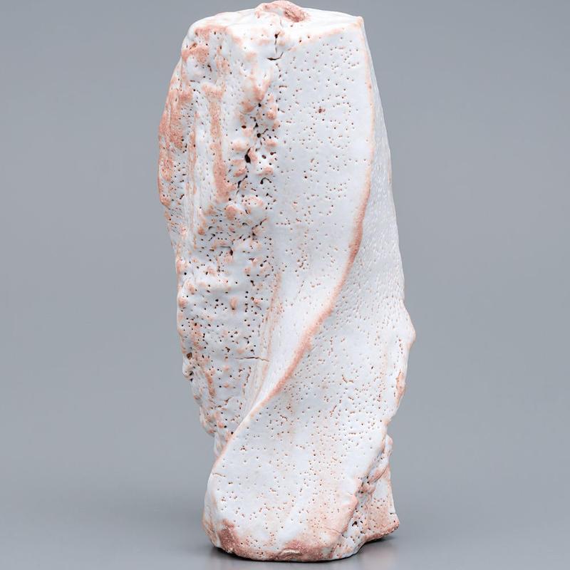 No.17:SHINO TOUKAISEKI Vase「志埜陶塊石花器」