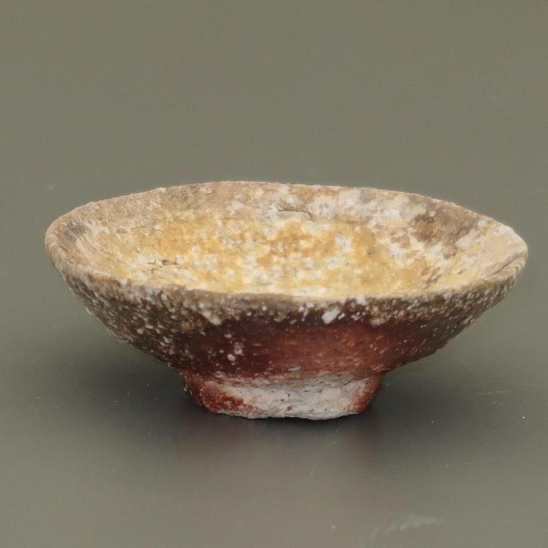 No.102:YOHEN Natural Ash Glaze SAKE Cup「窯変灰被ぐい呑」
