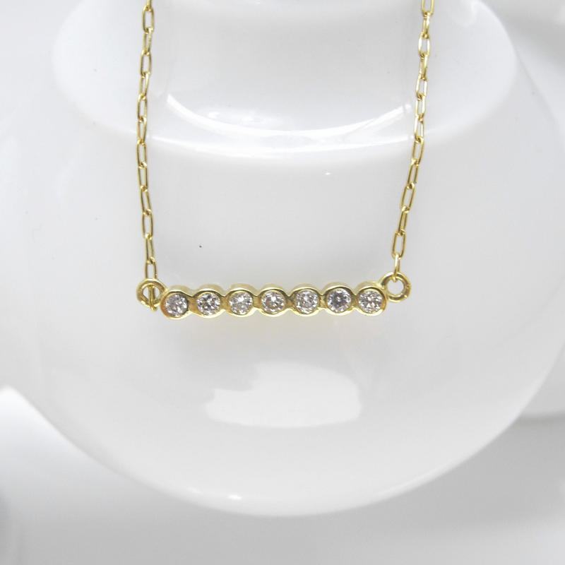 7points diamond necklace
