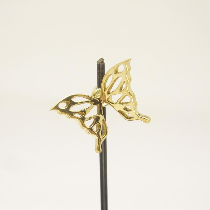 蝶のエンドキャップ | Brass