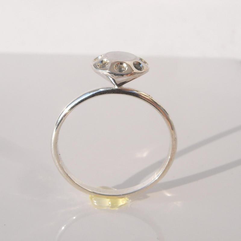 富豪の指輪 2.0ct with stone