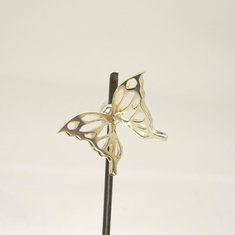 蝶のエンドキャップ | Silver