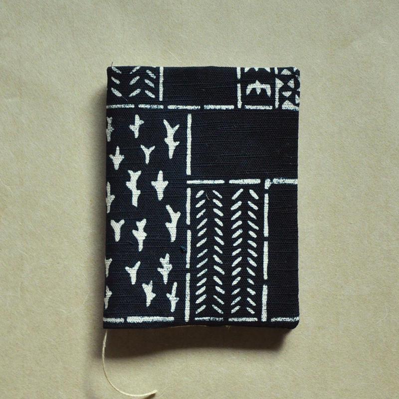 型染布ブックカバー(文庫本サイズ)|民布(単色)