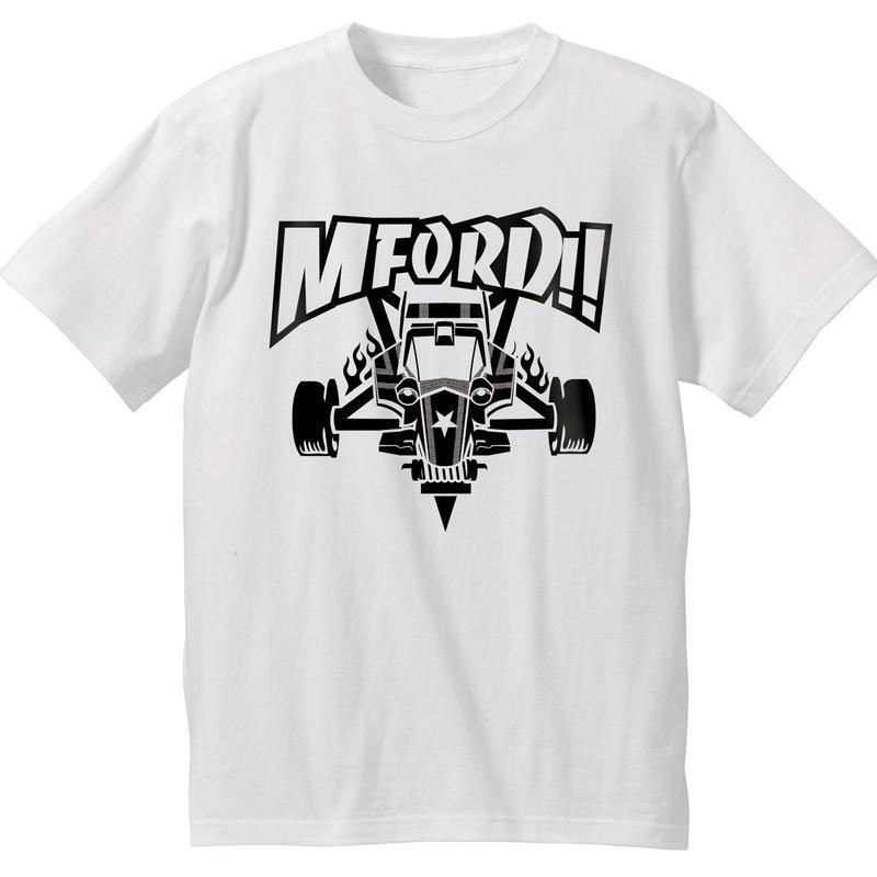 2018 M4D Tシャツ vr.1【フロントプリント】WHITE