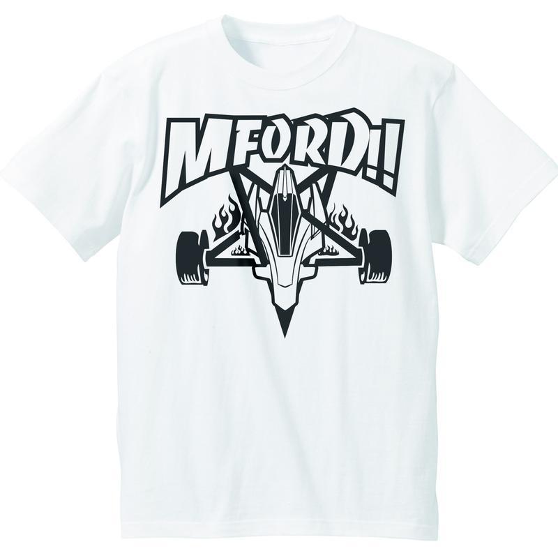 M4D-エンブレムTシャツ(ホワイト)