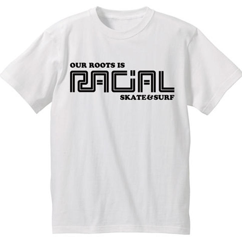 RACIAL 復刻Tシャツ (ホワイト)